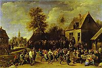 Country celebration, teniers