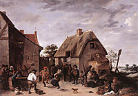 Flemish Kermess, teniers