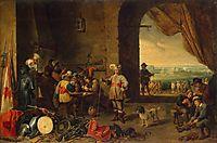 Guardroom, teniers