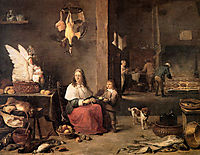 Kitchen, teniers