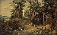 Landscape, c.1655, teniers
