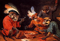 Monkey Tavern, teniers
