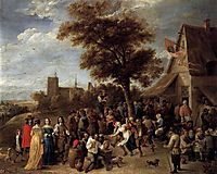 Peasants Merry-Making, c.1650, teniers