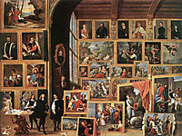 The Picture Gallery of Archduke Leopold Wilhelm, teniers