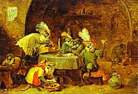 Smokers and Drinkers, teniers
