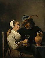 Tavern Scene, 1640, teniers