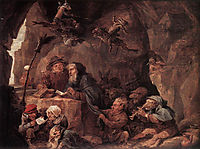 Temptation of St. Anthony, teniers