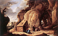 The Temptation of St Anthony, teniers
