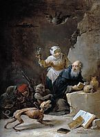 The Temptation of St. Anthony, teniers