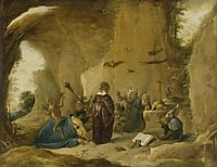 The Temptation of St. Anthony, c.1645, teniers