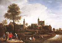 A View of Het Sterckshof near Antwerp, 1646, teniers