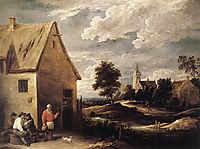 Village Scene, teniers