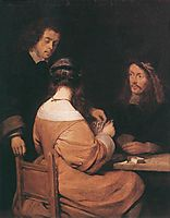 Card Players, terborch