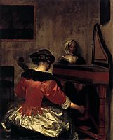 The Concert, c.1675, terborch