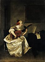 The Lute Player, 1668, terborch