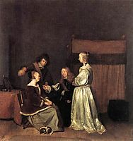 The Visit, terborch