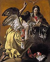 The Annunciation, 1625, terbrugghen
