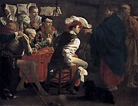 The Calling of St. Matthew, terbrugghen