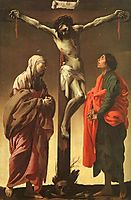 The Crucifixion With The Virgin And St. John, terbrugghen