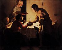 Esau Selling His Birthright, terbrugghen