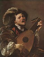 The Singing Lute Player, terbrugghen