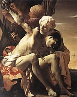 St. Sebastian Tended by Irene and her Maid, 1625, terbrugghen