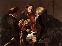 Supper at Emmaus, c.1621, terbrugghen