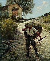Ancient Provençal Road, 1920, thangue