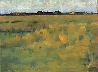 Farm Near Horsey, Norfolk, 1885, thangue