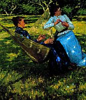 In the Orchard, 1893, thangue
