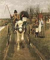 Leaving Home, 1890, thangue