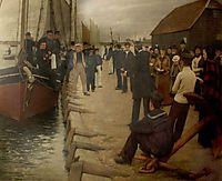 A Mission to Seamen, 1891, thangue