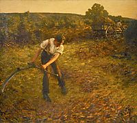 Mowing Bracken, thangue