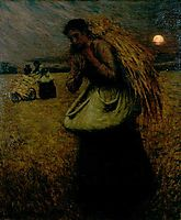 Nightfall (The Gleaners), 1895, thangue
