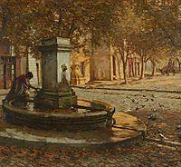 A Provençal Fountain, thangue