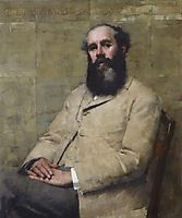 R. H. La Thangue (Portrait of the Artist-s Father), 1882, thangue