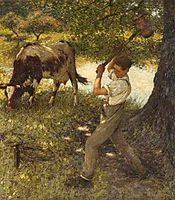 Stumping the Cow, thangue