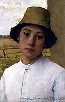 The Young Farmhand, 1885, thangue