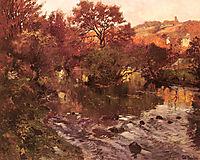 Golden Autumn, Brittany, thaulow