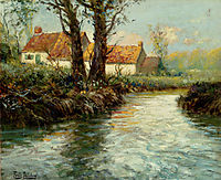 House by yhe Water-s Edge, thaulow