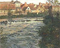 Landscape and River, thaulow