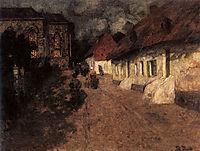 Midnight Mass, 1901, thaulow