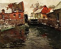 The Mill, c.1895, thaulow