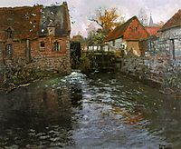The Mill Pond, thaulow