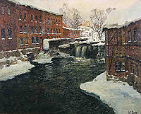 Mill Scene, c.1890, thaulow