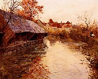 A Morning River Scene, 1891, thaulow