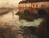 Old factory on the Somme (Evening), 1906, thaulow