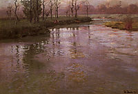 On a French River, thaulow
