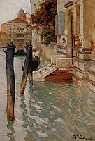 On the Grand Canal, Venice, thaulow