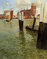The Pier, Dordrecht, 1905, thaulow